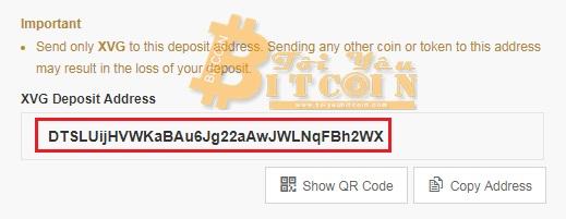Cách rút tiền từ ví Verge Tor. Ảnh 2