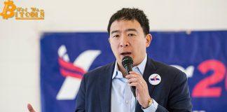 """Ứng viên Tổng thống Mỹ Andrew Yang kêu gọi ban hành """"quy định rõ ràng"""" cho tiền điện tử"""