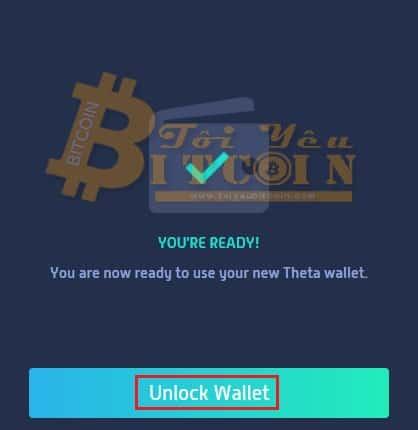 Tạo ví Theta coin trên web. Ảnh 5