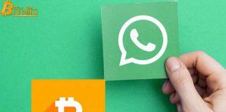 WhatsApp giới thiệu dịch vụ gửi và nhận Bitcoin (BTC) hay Litecoin (LTC)