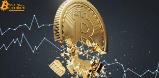 Giá Bitcoin rơi mất $1.000 vì lệnh bán lớn trên sàn Bistamp