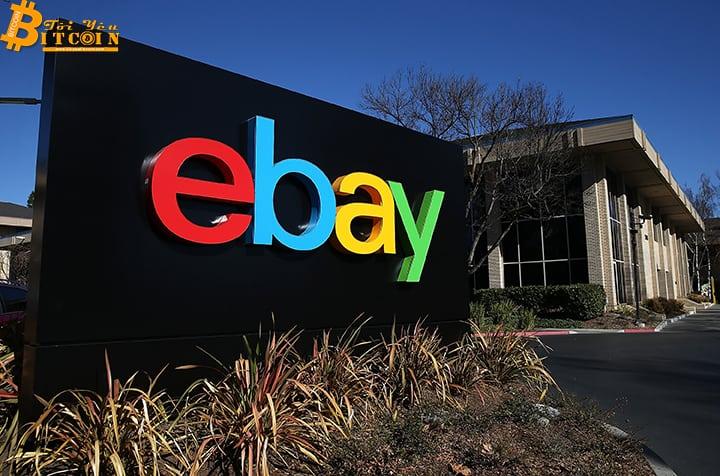 eBay chấp nhận thanh toán bằng tiền điện tử