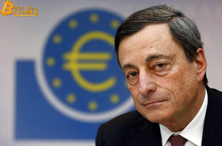 """Mario Draghi: Tiền điện tử không phải """"tiền tệ"""", mà là tài sản rủi ro cao"""