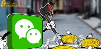 Ứng dụng nhắn tin WeChat cấm giao dịch tiền điện tử
