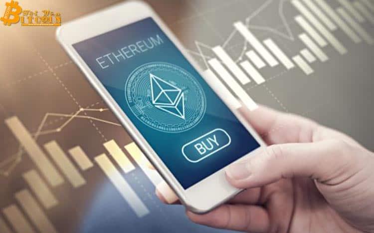 Khối lượng giao dịch hàng ngày của Ethereum lần đầu tiên vượt 1 triệu sau hơn một năm