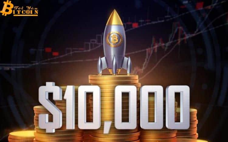 Tether in thêm 100 triệu USDT, giá Bitcoin vượt 10k