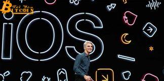 Phiên bản iOS 13 của Apple tích hợp bộ công cụ phát triển crypto