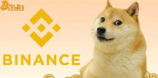Binance niêm yết Dogecoin
