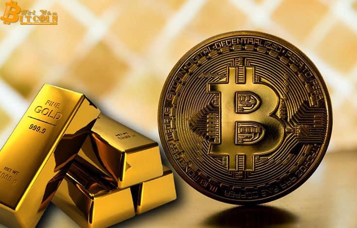 Bitcoin và vàng di chuyển tương tự trong 6 tháng qua