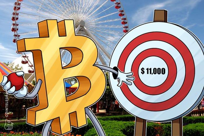 """Giá Bitcoin hướng tới mục tiêu $11.000, thị trường altcoin trở về từ """"cõi chết"""""""