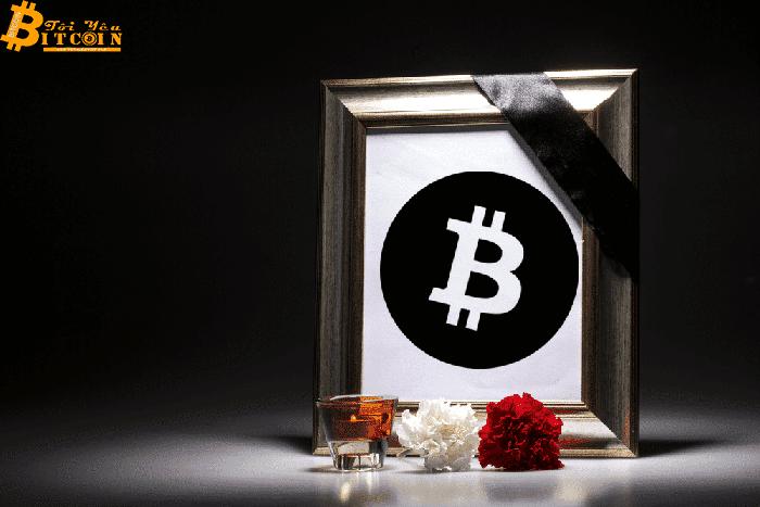 Bitcoin sẽ không thể hồi phục nữa