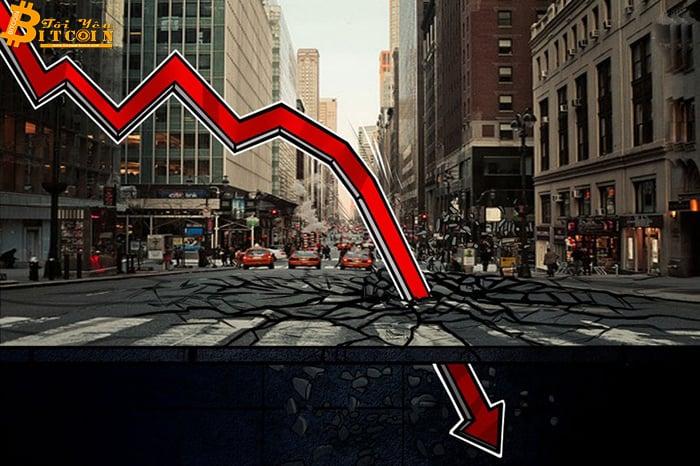 Giá Bitcoin giảm $400 trong một giờ khi không thể phá vỡ mốc $11.000
