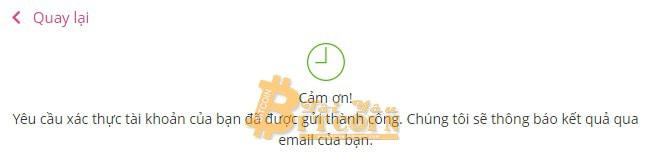 Cách xác minh tài khoản trên Bcnex. Ảnh 5