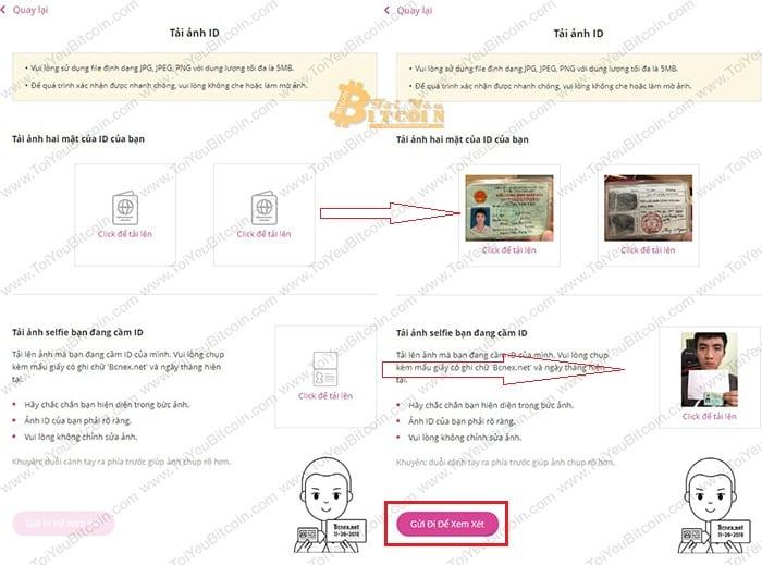 Cách xác minh tài khoản trên Bcnex. Ảnh 4