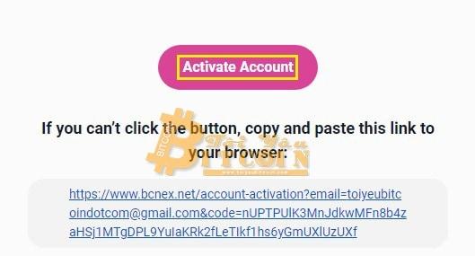 Cách đăng ký tạo tài khoản Bcnex. Ảnh 2