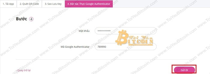 Bật bảo mật 2FA cho Bcnex. Ảnh 6