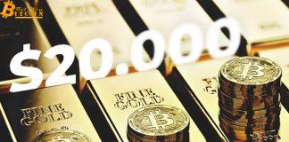 Giá Bitcoin sẽ vượt $20k trong năm tới nếu tiếp tục đi theo chu kỳ thị trường vàng