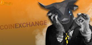 Sàn giao dịch Coinexchange.io đóng cửa