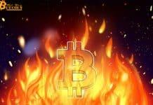 Trang trại khai thác Bitcoin trị giá 10 triệu USD bị cháy khiến hashrate sụt giảm