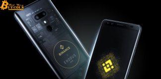 Binance và HTC ra mắt điện thoại thông minh tiền điện tử hỗ trợ Binance Chain