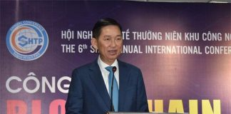 Phó Chủ tịch UBND TP Hồ Chí Minh Trần Vĩnh Tuyến phát biểu tại hội nghị. Ảnh: TL