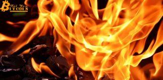 "Tether đốt 740 triệu USDT trong khi chỉ ""in"" 200 triệu USDT"