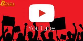 """YouTube khôi phục các video liên quan đến tiền điện tử, thừa nhận chỉ là """"nhầm lẫn"""""""