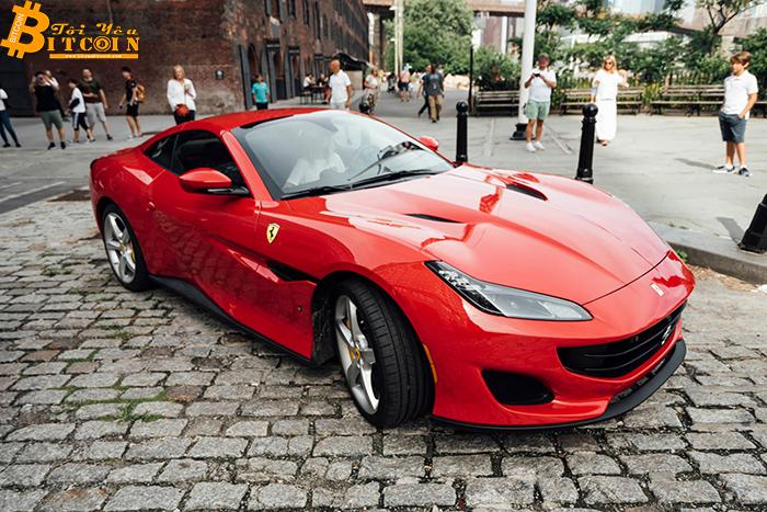 Hai công ty hợp tác để token hóa những chiếc siêu xe, bao gồm cả Ferrari