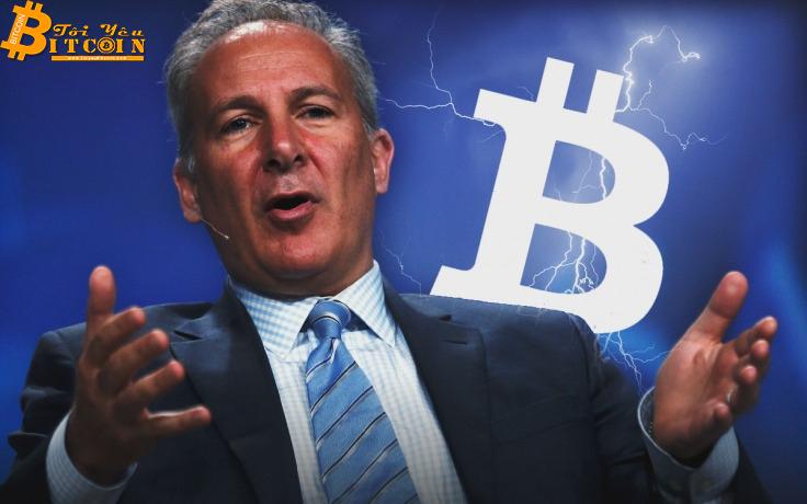 """""""Đại gia"""" Peter Schiff """"làm mất"""" toàn bộ số Bitcoin của mình"""