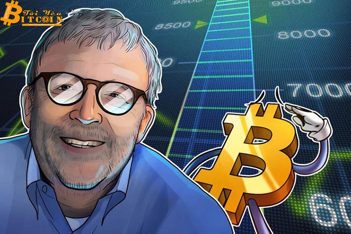 Peter Brandt: Bitcoin đã chạm đáy