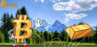 """Dự đoán giá Bitcoin rớt về $1.000 của Peter Schiff """"phá sản"""" khi vàng giảm 4%"""