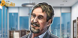 """John McAfee sẽ phải tự cắn """"của quý"""" nếu Bitcoin không tăng 13.800% vào năm 2020"""