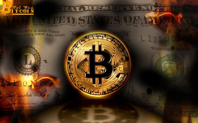 Bitcoin có thể là giải pháp duy nhất cho suy thoái kinh tế toàn cầu sắp tới