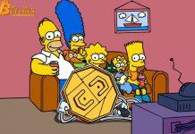 """Tiền điện tử xuất hiện trên The Simpsons nơi Jim Parsons giải thích đó là """"tiền mặt của tương lai"""""""