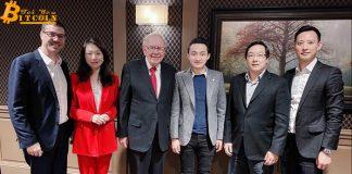 Justin Sun của Tron cuối cùng cũng hoàn thành bữa tối 4,5 triệu USD với Warren Buffett