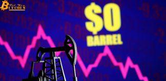 3 lý do khiến giá dầu giảm xuống mức âm
