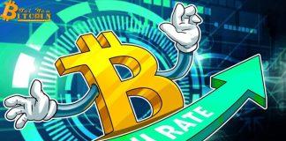 Hashrate của Bitcoin tăng 33% chỉ trong 2 ngày, liệu giá có di chuyển cùng chiều?