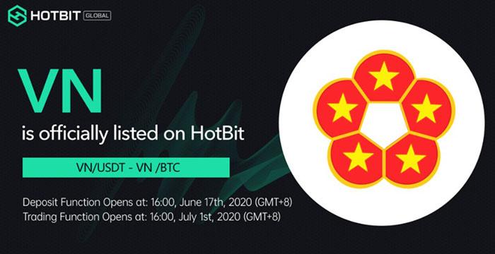 VN Token list Hotbit