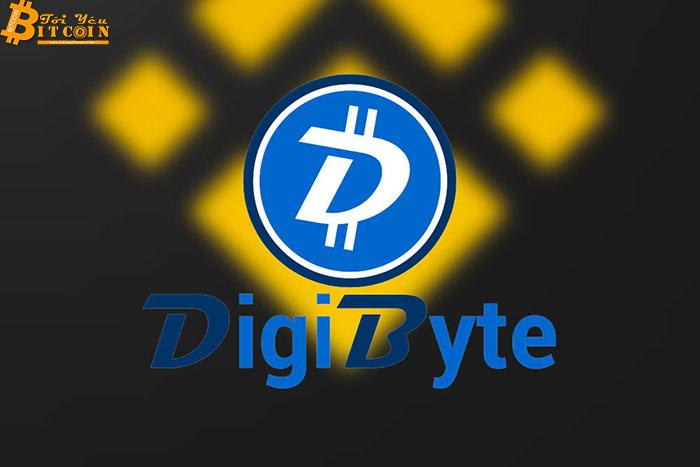 Giá DigiByte (DGB) tăng vọt 35% sau khi niêm yết trên sàn Binance