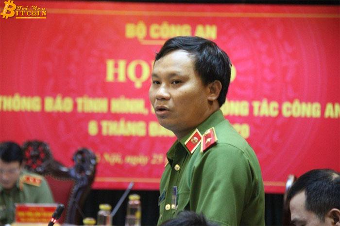 Thiếu tướng Trần Ngọc Hà, Cục trưởng Cục Cảnh sát Hình sự.