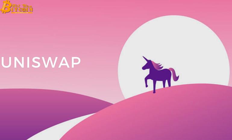 Khối lượng giao dịch của Uniswap đạt kỷ lục 1,76 tỷ USD trong vòng chưa đầy hai tuần
