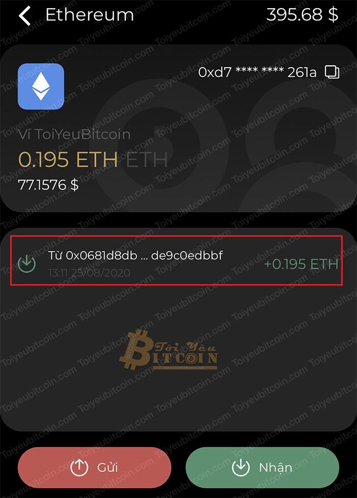Cách nạp coin/token vào ví Coin98 Wallet. Ảnh 3