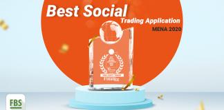Ứng dụng FBS CopyTrade được trao tặng danh hiệu Best Social Trading Application MENA 2020
