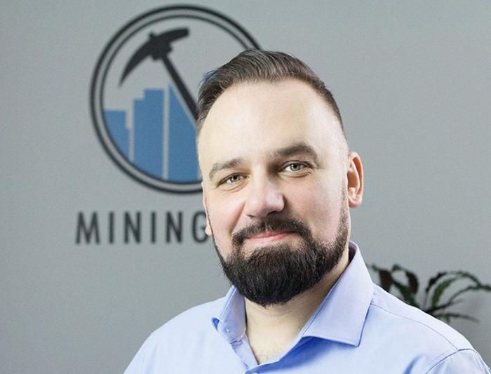 Gregory Rogowski, người mà giới đầu tư cho rằng đang giữ chức giám đốc điều hành Mining City. Ảnh: Medium
