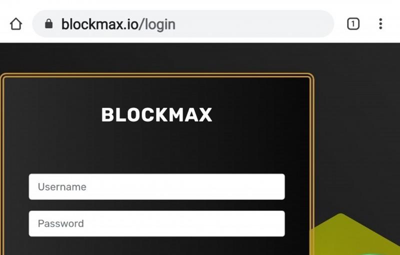 Người đầu tư vào trang blockmax.io để dùng tiền thật mua các đồng tiền ảo.