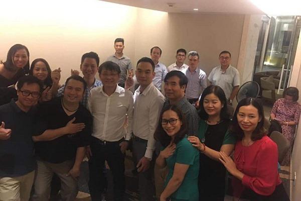 """""""Tỷ phú"""" Richard Tan trong lần hiếm hoi có mặt tại Việt Nam để giới thiệu về app My Aladdinz."""
