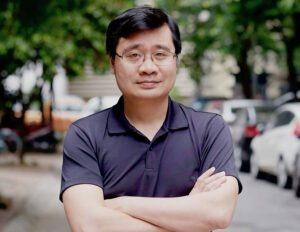 Ông Vương Quang Long, nhà sáng lập và là Giám đốc điều hành TomoChain