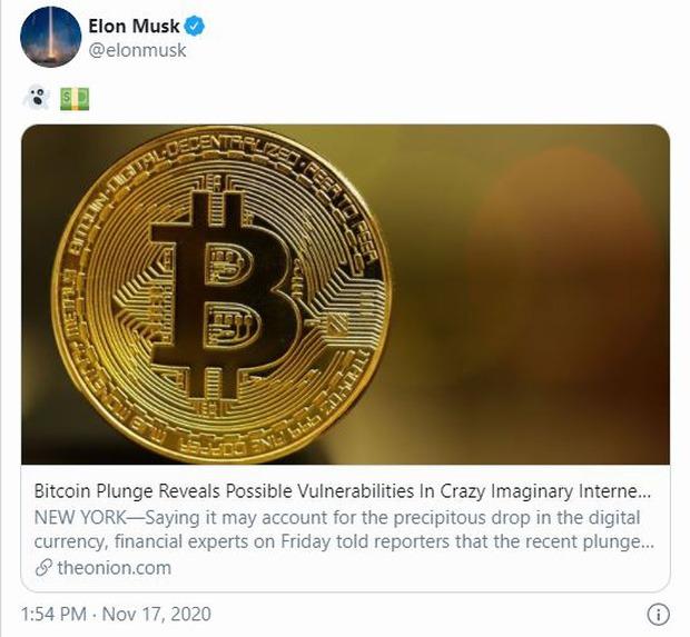 """Elon Musk ám chỉ Bitcoin như một """"đồng tiền ma quỷ"""""""