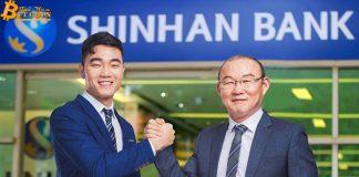 Shinhan bank đầu tư chiến lược vào tập đoàn lưu ký tiền điện tử
