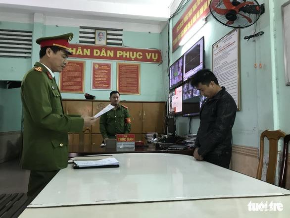 Cơ quan công an khởi tố, bắt giam bị can liên quan hành vi lừa đảo qua mạng - Ảnh: Đ.C.